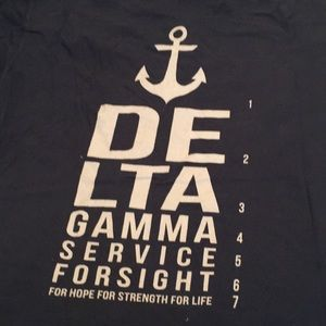 Delta Gamma Service For Sight T-shirt